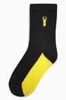 Next Stag Embroidery Socks Seven Pack (Older)