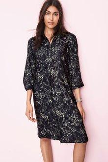 Next Print Shirt Dress -Tall