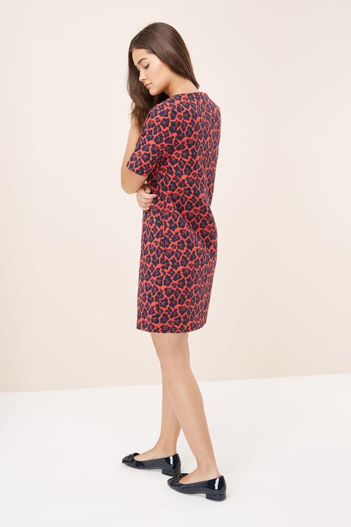 Next Jacquard Shift Dress -Tall