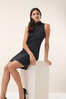 Next Leopard Print Dress -Tall