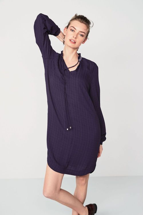 Next Pie Collar Dress -Tall