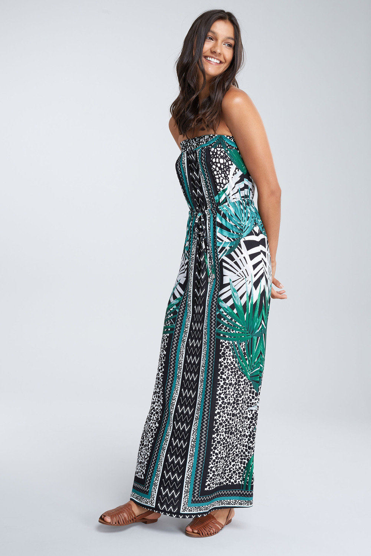 715030e48879 Next Palm Print Maxi Dress Online | Shop EziBuy