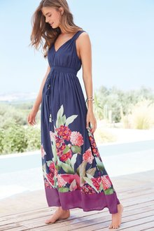 Next Print Maxi Dress