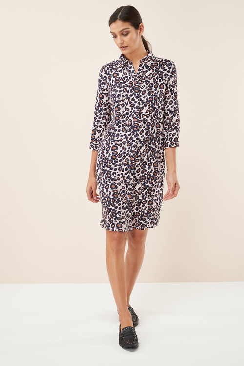 Next Print Shirt Dress