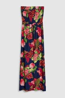 Next Floral Jersey Maxi Dress