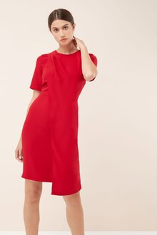 Next Drape Front Dress -Petite