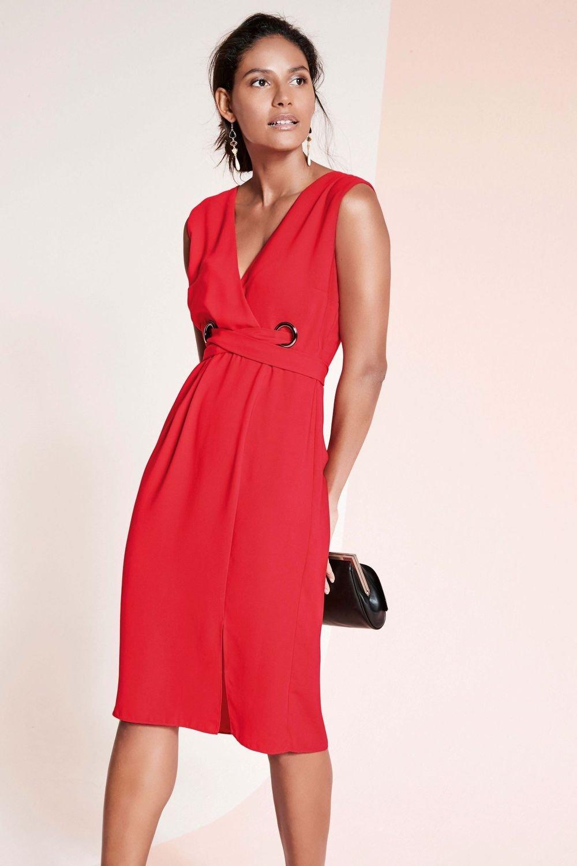 c284f11e45c Next Eyelet Detail Dress -Petite Online