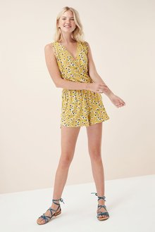Next Ditsy Playsuit -Tall