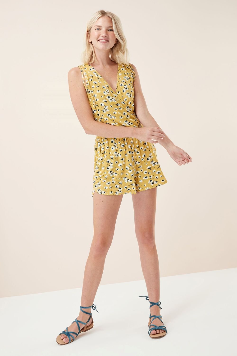86c2994ebe1 Next Ditsy Playsuit -Tall Online