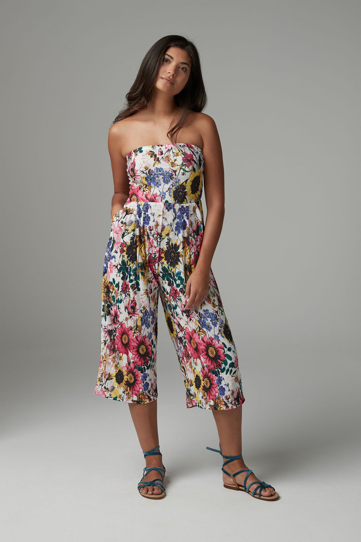 1ac6def4a576 Next Floral Print Culotte Jumpsuit Online