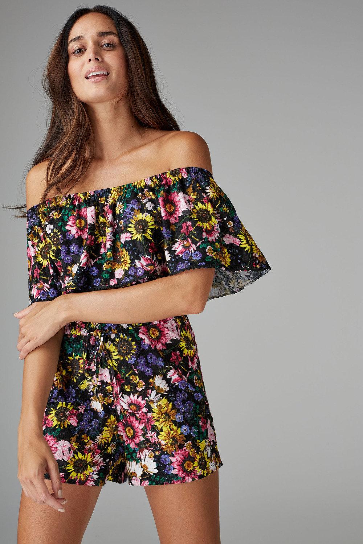 9b2097c9028 Next Floral Frill Playsuit Online