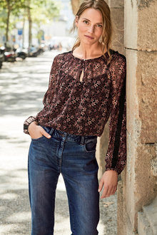 Next Relaxed Skinny Jeans -Petite