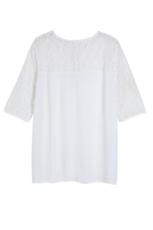 Urban Lace Detail Shirt