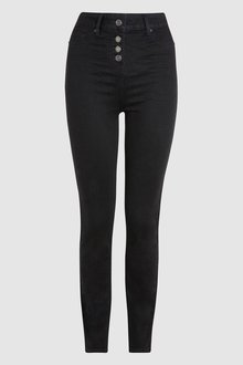 Next Super High Waist Skinny Jeans -Petite
