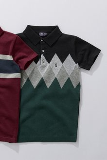 Next Argyle Polo (3-16yrs)