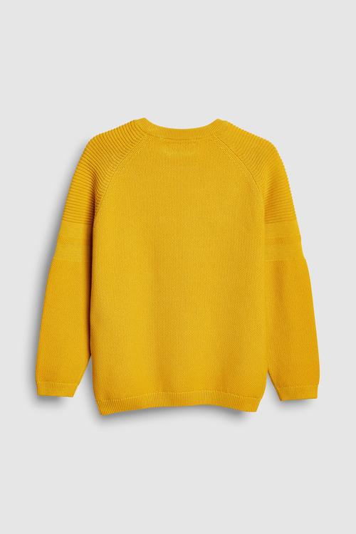 Next Textured Knit Crew (3-16yrs)
