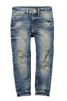 Next Distressed Carrot Fit Jeans (3-16yrs)