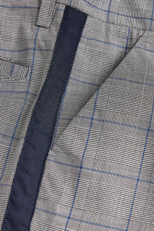 Next Check Side Stripe Trousers (3-16yrs)