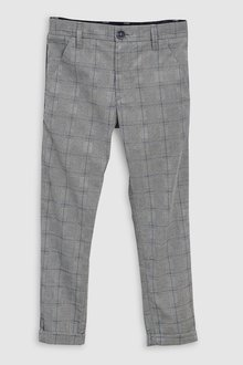 Next Check Side Stripe Trousers (3-16yrs)