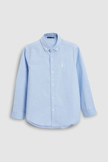 Next Long Sleeve Oxford Shirt (3-16yrs) - 218273