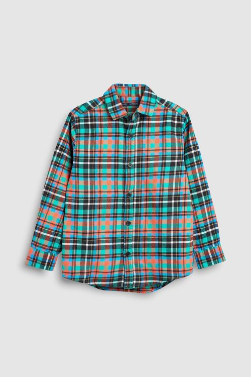 Next Long Sleeve Check Shirt (3-16yrs)
