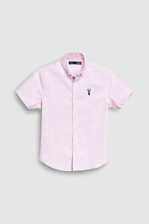 Next Short Sleeve Oxford Shirt (3-16yrs)