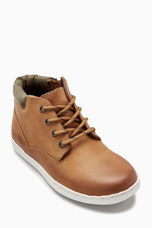 Next Leather Cupsole Work Boots (Older)