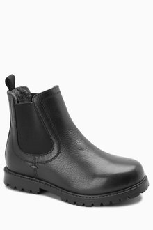 Next Leather Chelsea Boots (Older) - 218312