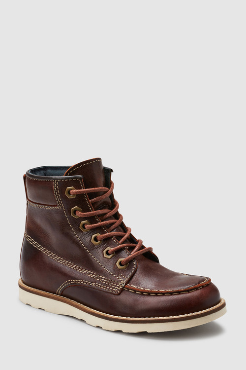 Next Leather Apron Boots (Older)
