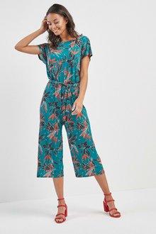Next Floral Print Jumpsuit