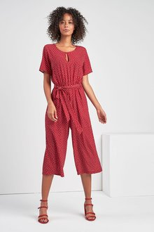 Next Spot Print Jumpsuit