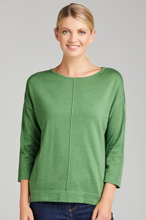 Emerge Merino Drop Shoulder Sweater