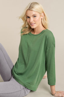 Emerge Merino Drop Shoulder Sweater