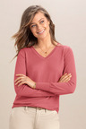 Emerge Merino V Neck Sweater