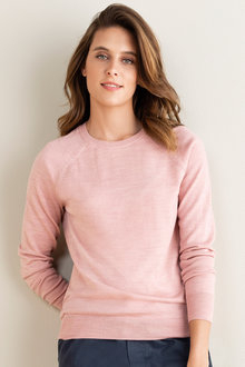 Emerge Merino Crew Neck Sweater - 218427