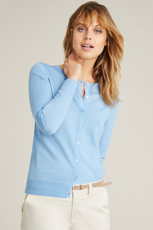 Emerge Merino Button Up Cardigan