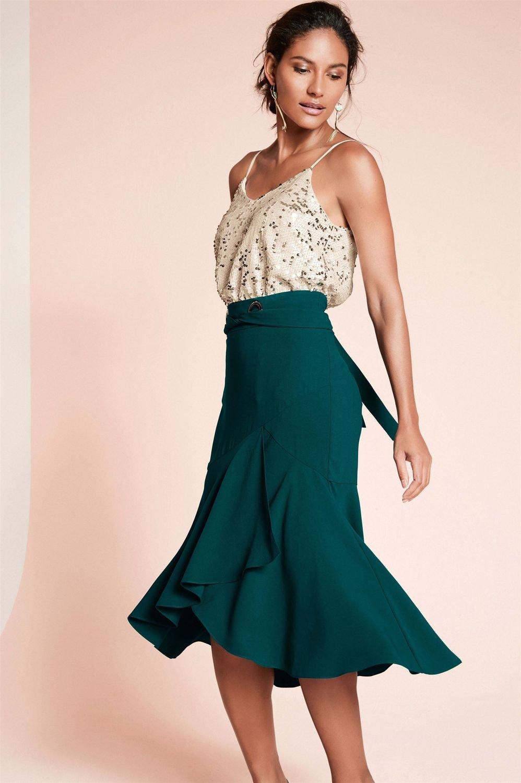 3822f363527 Next Eyelet Detail Skirt Online