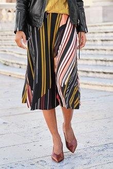 Next Stripe Skirt