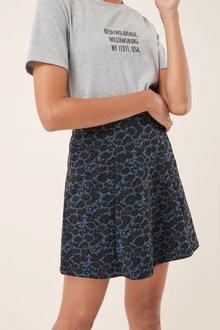 Next Animal Jacquard Skirt - 218495