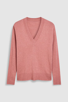 Next Luxe V-Neck Sweater -Tall