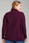 Plus Size - Sara Lambswool Button Cardigan