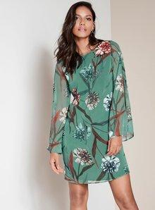 Next Split Sleeve Dress