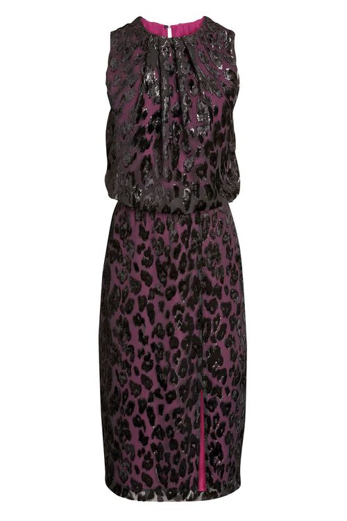 Next Animal Burnout Midi Dress