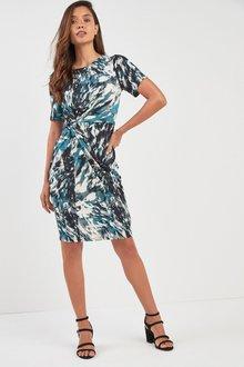 Next Jersey Twist Dress