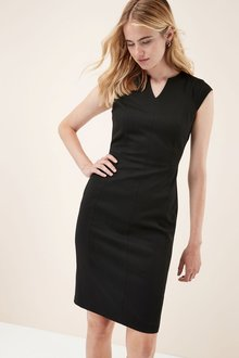 Next Panelled Workwear Dress