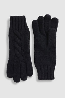 Next Cable Knit Gloves