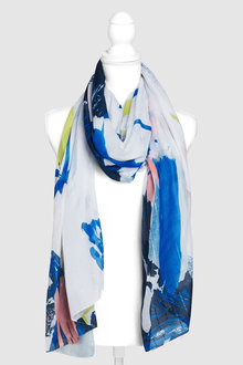 Next Abstract Print Scarf