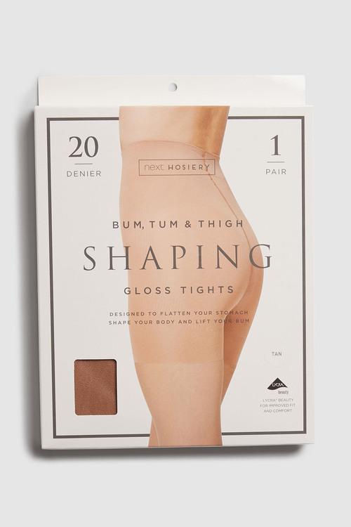 Next Bum/Tum/Thigh Gloss Shaping Tights