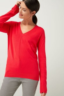 Next Cosy V-Neck Sweater