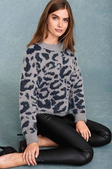 Next Statement Animal Sweater